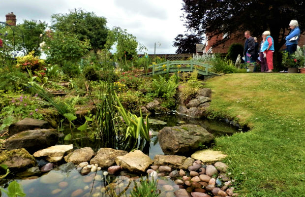 One of the gardens in Whittington