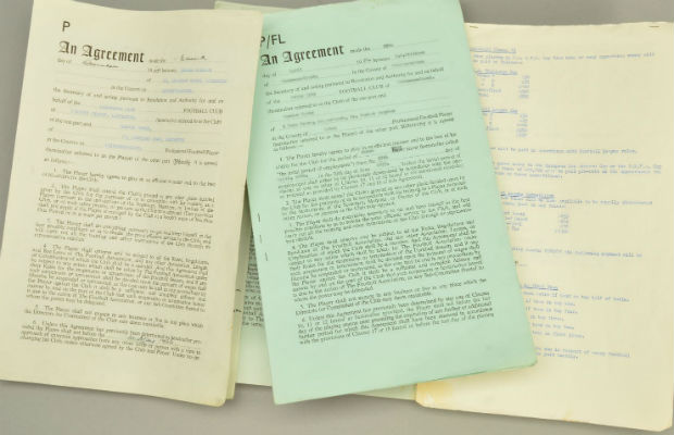 Gordon Banks contracts