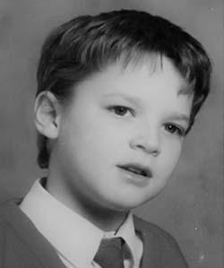Michael Lieber as a child