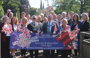 The launch of the 2019 Lichfield Proms