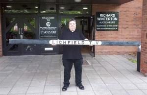 The Lichfield Trent Valley bench slat