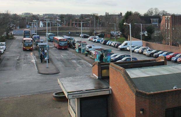 Lichfield bus station, which had been earmarked to be part of the failed Friarsgate redevelopment