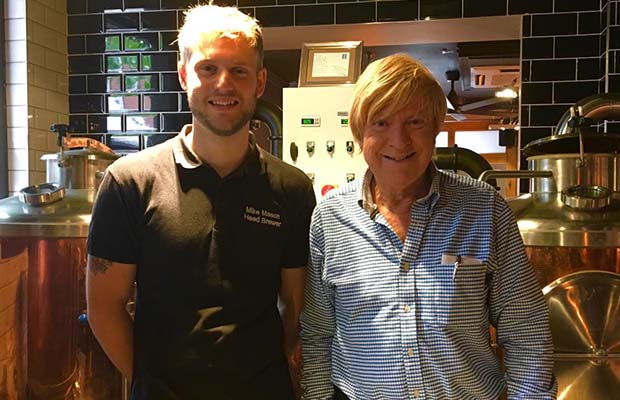 Mike Mason with Michael Fabricant