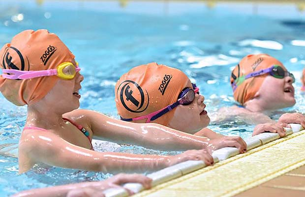 Swimming at Burntwood Leisure Centre
