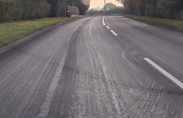 The resurfaced A5190