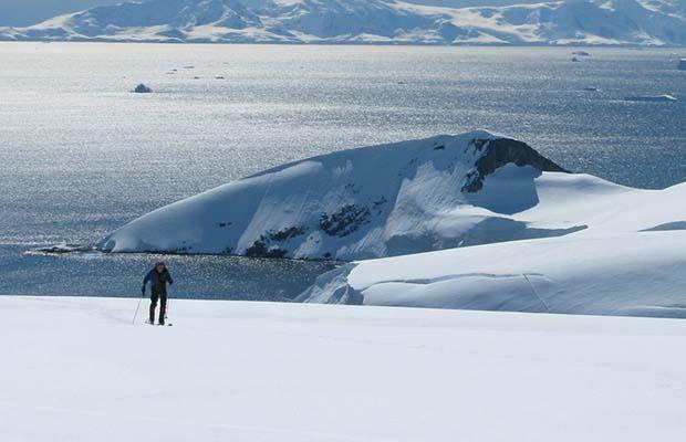 Simon Yates in Antarctica