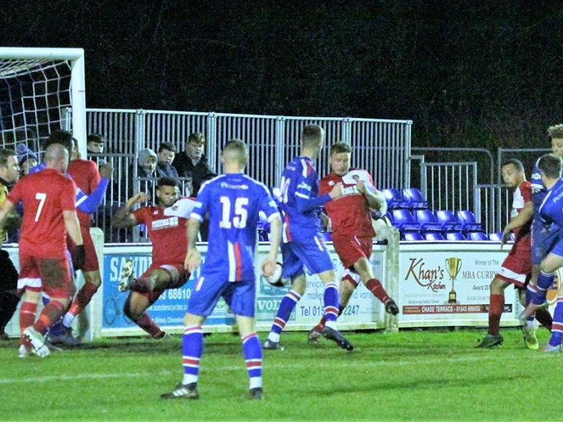 James O'Reilly scores the winner. Picture: Dave Birt