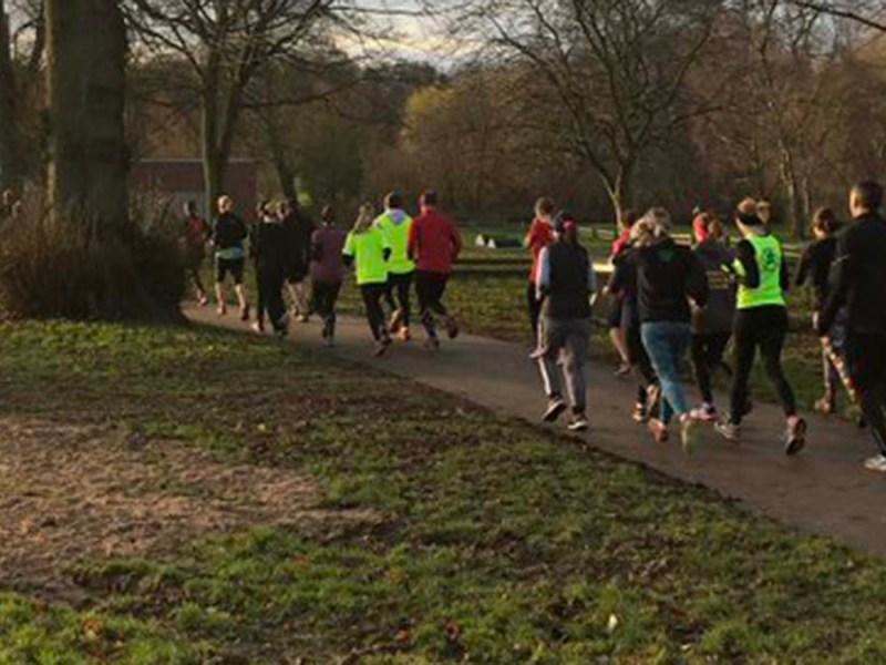 The Park Run trial event in Lichfield