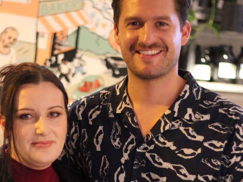 Aimee Edge with Ben Aldridge