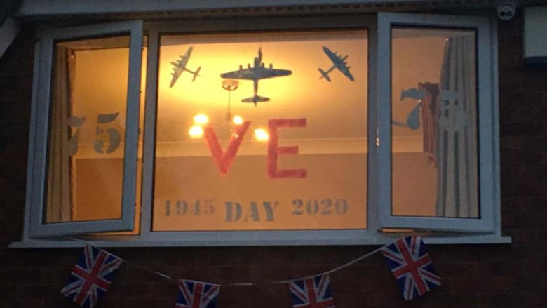 A window display in Burntwood