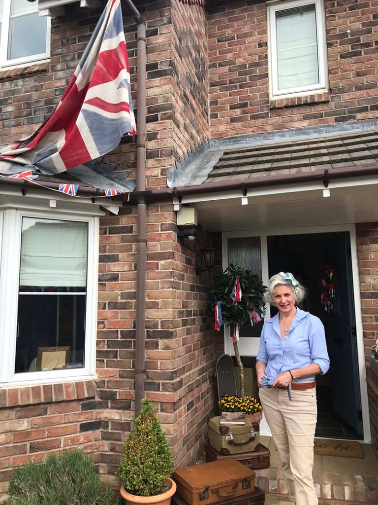 Original VE Day decorations return 75 years later. Picture: Simon Ptolomey