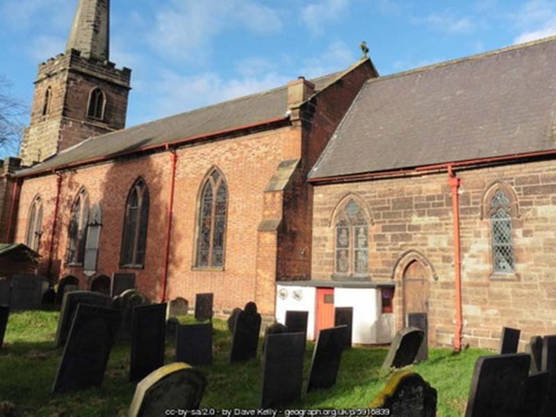 St Giles' Church in Whittington