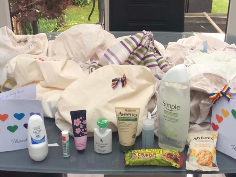 Some of the items donated by Lichfield Ladies Circle