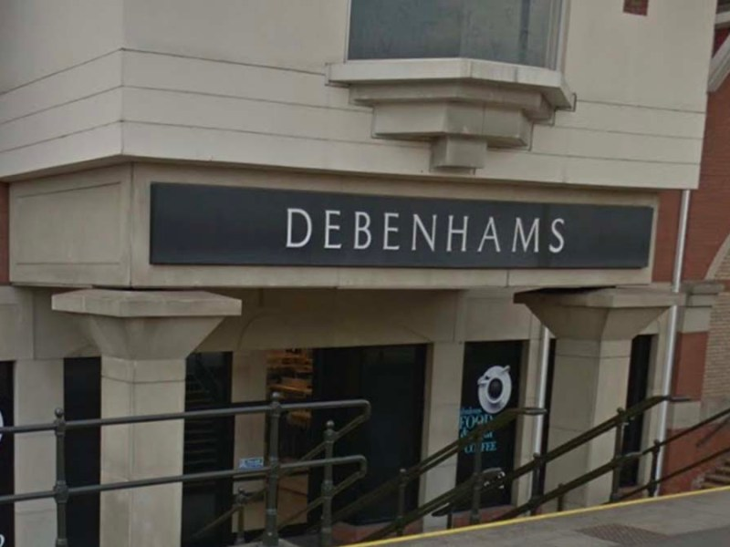 Debenhams in Lichfield. Picture: Google Streetview