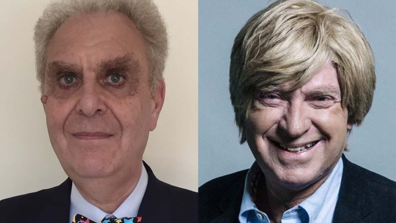 Cllr Hugh Ashton and Michael Fabricant MP