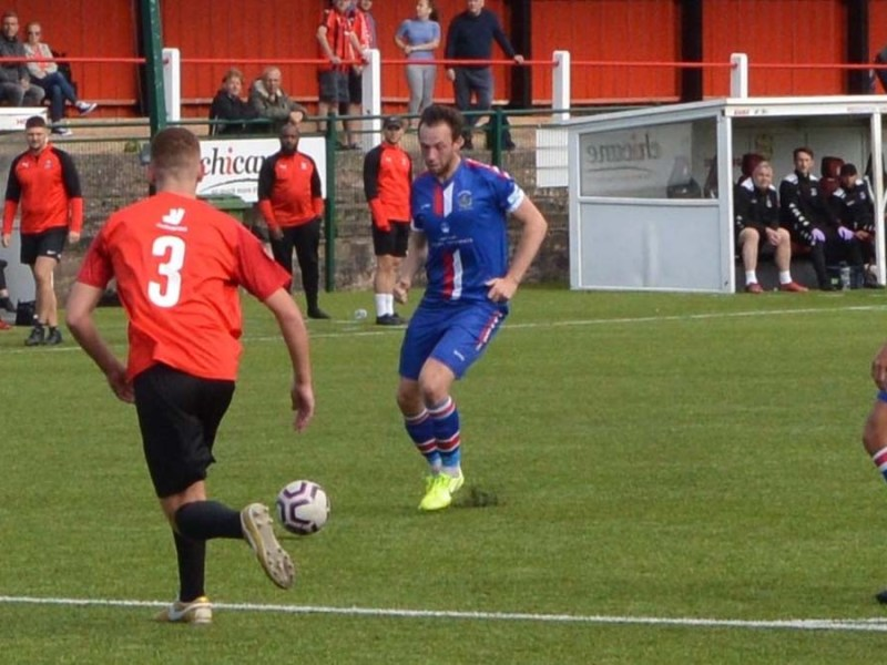Action from Chasetown's trip to Redditch United. Picture: Chasetown FC