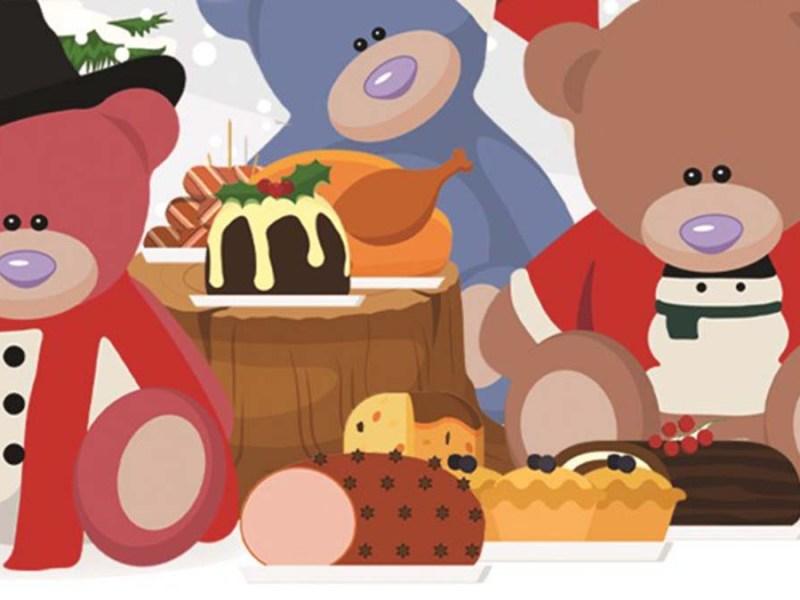 Freddy The Teddy's Christmas Feast