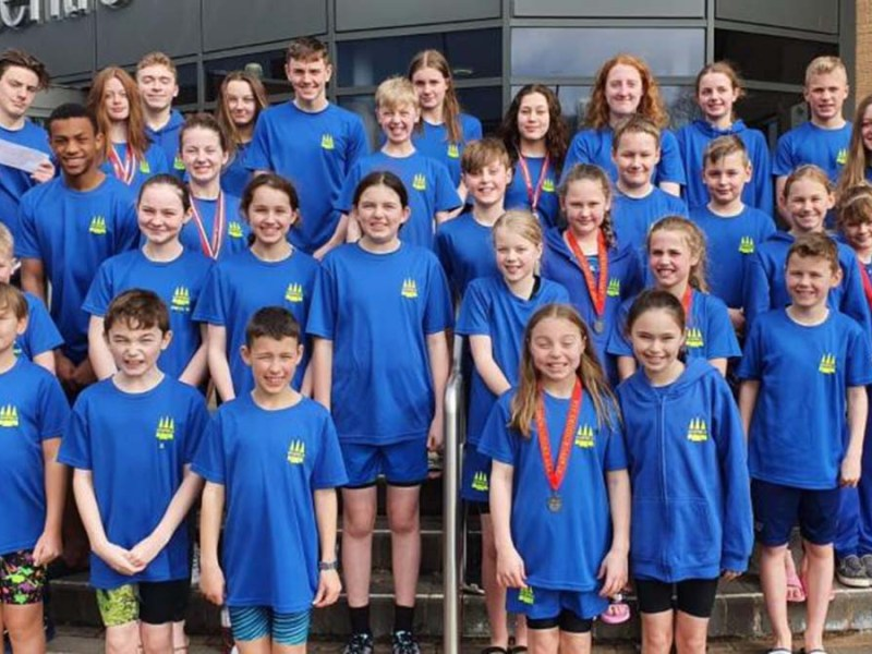 Lichfield Swimming Club members
