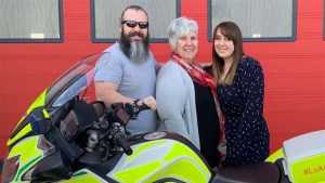Charity helping save lives on local roads boosted by donation from M6 Toll operator