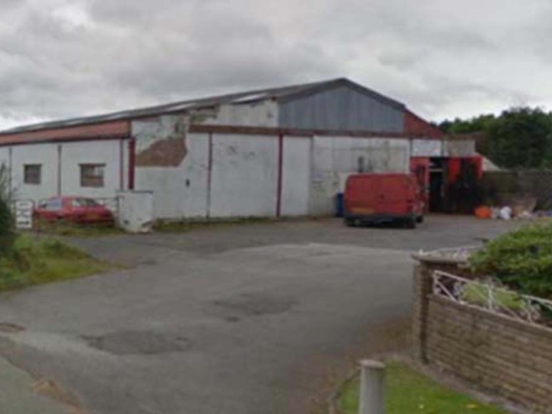 The existing buildings on the Overton Farm site. Pic: Google Streetview