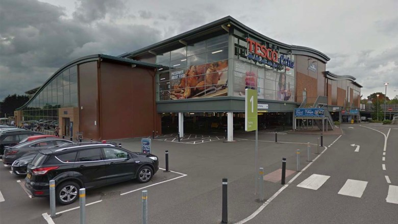 The Tesco supermarket in Lichfield. Picture: Google Streetview