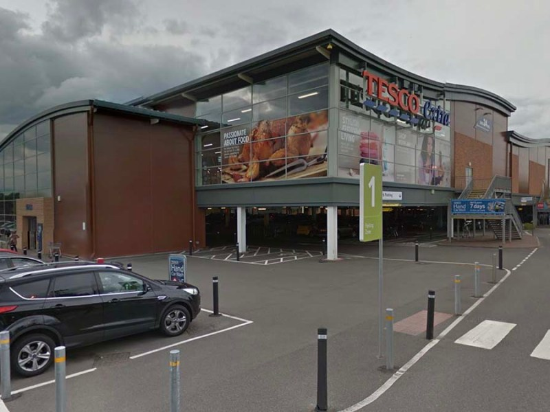 The Tesco supermarket in Lichfield. Picture: Google Streetview