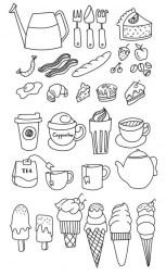 11.Картинки для лд черно белые