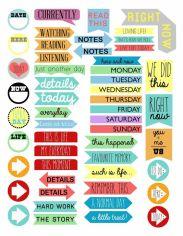 04.Распечатки для личного дневника красивые