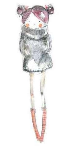 14.Рисунки для срисовки легкие для девочек