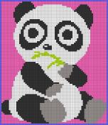 09.Как нарисовать панду по клеточкам