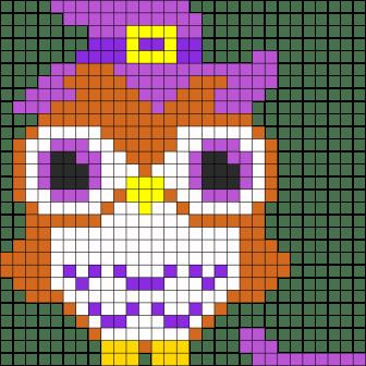 06.Рисунки по клеточкам сова