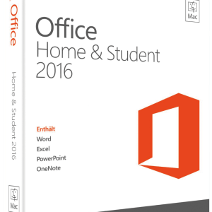 Microsoft Office für MAC Home and Student 2016