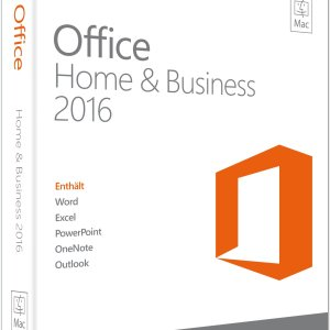 Microsoft Office Home and Business 2016 für Mac