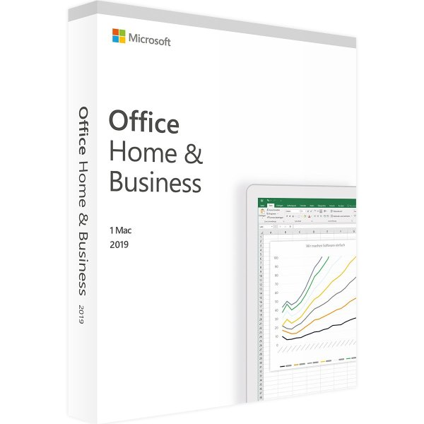 Microsoft Office Home and Business 2019 für Mac