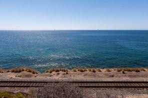 Eine Fahrt mit der Bahn dürfte eine schöne Aussicht bieten.