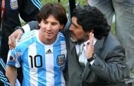 Messi bị chê không bằng đàn anh Maradona