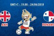 Soi kèo Anh vs Panama 19h ngày 24/06