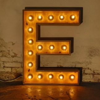 Lichtletter E