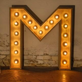 Lichtletter M