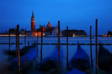Blaue Stunde Venedig - Renja Laskowski