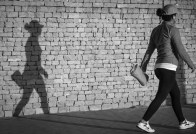 The shadow and me (1 von 1) Kopie