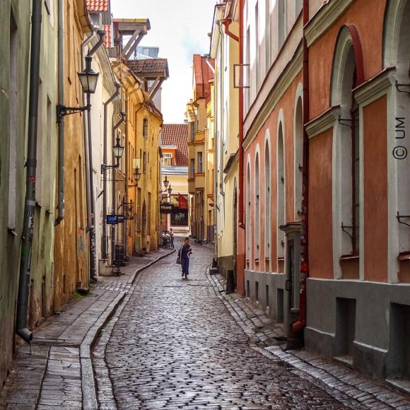 Gasse in Tallinn