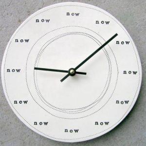 De tijd en het nu