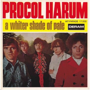 Procol Harum - A Whiter Shade Of Pale. A Whiter Shade of Pale en King Corn brood