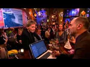 Luisteren en kijken naar de top 2000. Top 2000 a gogo. Leo Blokhuis. Mathijs van Nieuwkerk