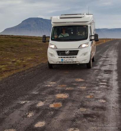 Keine Probleme auf Gravel Roads
