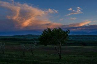 ...nach Sonnenuntergang