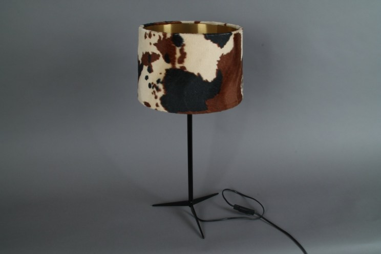table lamp vintage gold