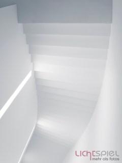 Treppenhaus in der Pinakothek der Moderne. Das ist mein Abgabebild