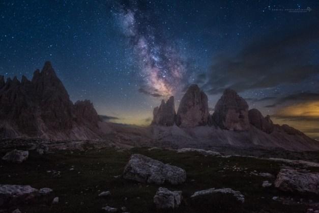 Dolomites Midnight